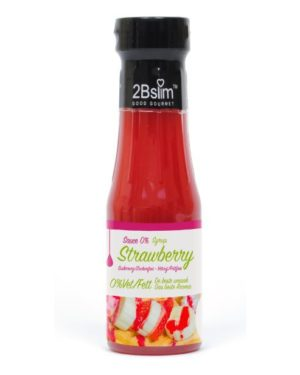 2BSlim Strawberry Sauce - 250 ml