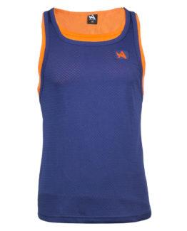 Tee Mesh Sleeveless - Army Orange - Navy - XL