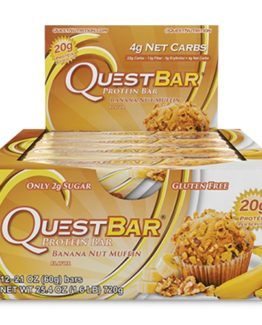Quest Bar - 1 doos - Banana Nut Muffin.