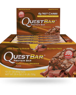 Quest Bar - 1 doos - Chocolate Brownie.