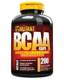 Mutant BCAA Caps - 400 capsules
