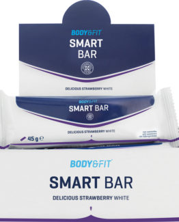 Smart Bars - 1 doos - Strawberry White Chocolate