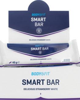 Smart Bars - 1 doos - Strawberry White Chocolate