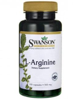 L-Arginine capsules 500mg - 200 capsules