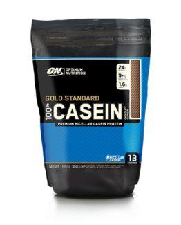100% Caseine Time Release Proteine - 450 gram - creamy vanilla.