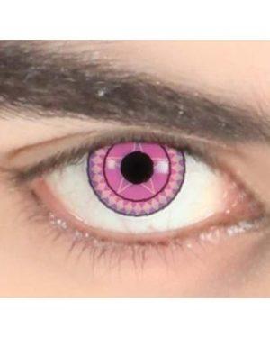 1 Maand crazy lens pink star