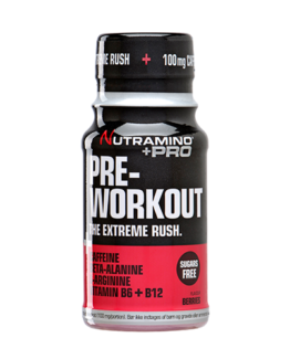 +Pro Pre-Workout Shot-Berries-60 ml
