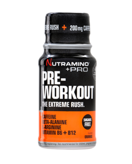 +Pro Pre-Workout Shot-Orange-60 ml